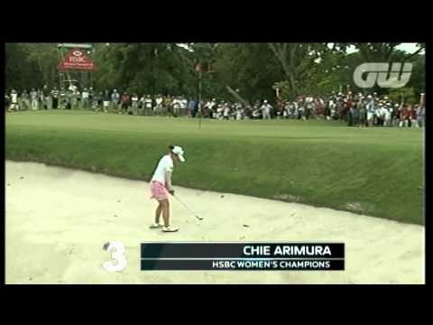 Top 5 shots of the LPGA Tour in  February 2011
