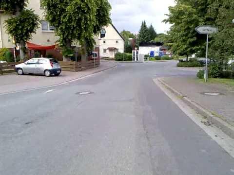 Mit Inline-Skates durch 31737 Rinteln-Krankenhagen - 20.06.2010 - K2.mp4