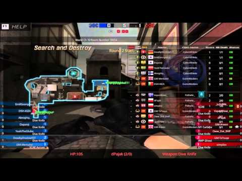 BlackShot Global Premier League — Week 2 — CyberAthlete vs Pathetic Squad
