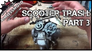 5. Honda Reflex NSS250 | Part 3 (Carburetor Disassembly)