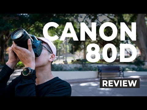 Canon EOS 80D DSLR Camera Body Only video