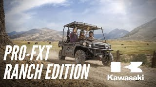 8. 2020 Kawasaki Mule Pro FXT Ranch Edition // WALK AROUND