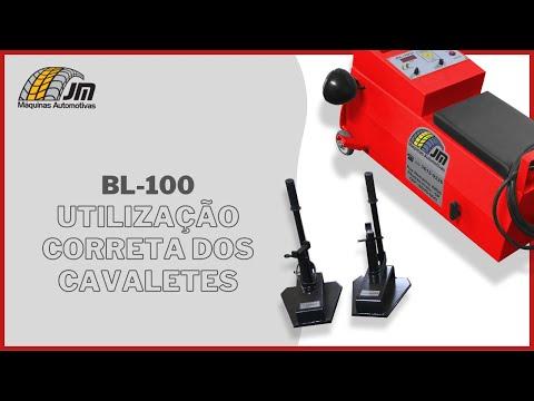 BL-100 - Utilização Correta dos Cavaletes