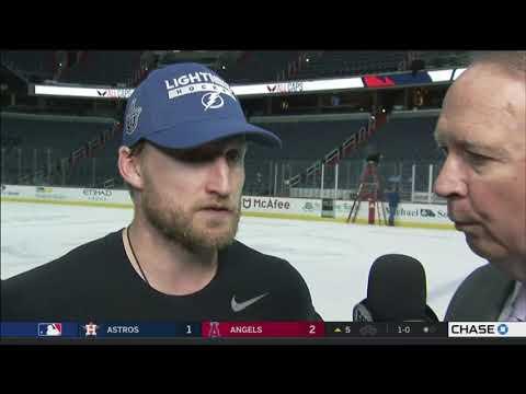 Steven Stamkos -- Tampa Bay Lightning at Washington Capitals Game 3 05/15/2018