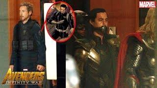 Avengers 4 Leaked Set Photos [Flashback/Time Stone]
