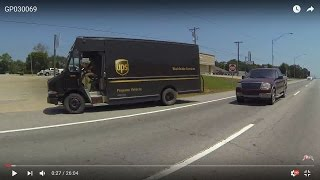Roland (OK) United States  City pictures : UPS, Propane Vehicle, Worldwide Services spotted entering St. Madron Parking Lot, 10 August GP030069