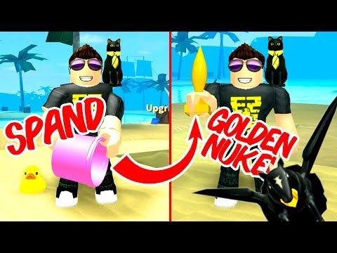 FRA SPAND TIL GOLDEN NUKE! - Roblox Treasure Hunt Simulator Dansk Ep 6