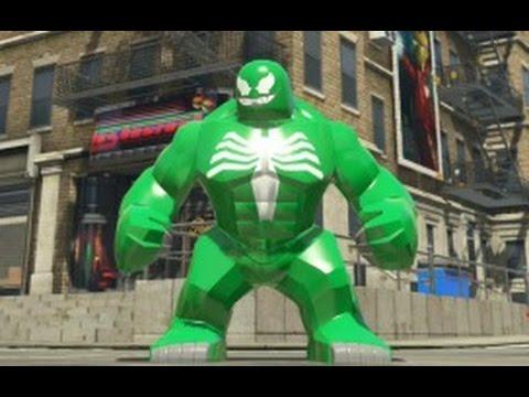 LEGO Marvel Super Heroes - Green Venom Big-Fig Free Roam Gameplay (PS4)