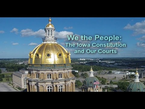 Image of We the People: The Iowa Constitution and Our Courts.