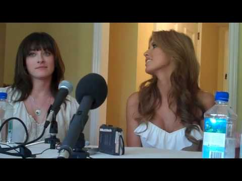 audrina wants to work with johnny depp? (видео)