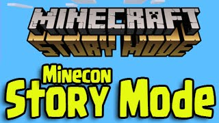 Minecraft Story Mode (PS3, PS4, Xbox) - Release Walkthrough Gameplay At Minecon!