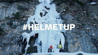 #HelmetUp [1/5] Ice Climbing with Fabian Buhl - Petzl by