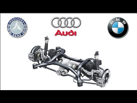 BMW Integral Active Steering vs AUDI All Wheel Steering vs Mercedes-Benz Distronic Plus