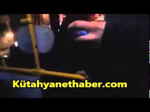 Halk otobüsü sürücüsü ve yolcular arasında tartışma çıktı