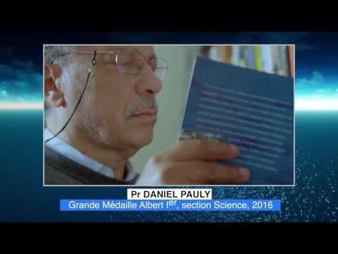 DANIEL PAULY - Lauréat 2016 Médailles Albert Ier - Section Science.