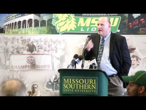 MSSU Welcomes Denver Johnson - The new MSSU Football Coach