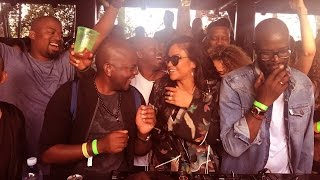 Black Coffee at Diddy's Party in Miami