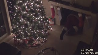 Video 5 SANTA CLAUSES CAUGHT ON CAMERA IN REAL LIFE MP3, 3GP, MP4, WEBM, AVI, FLV Juli 2018