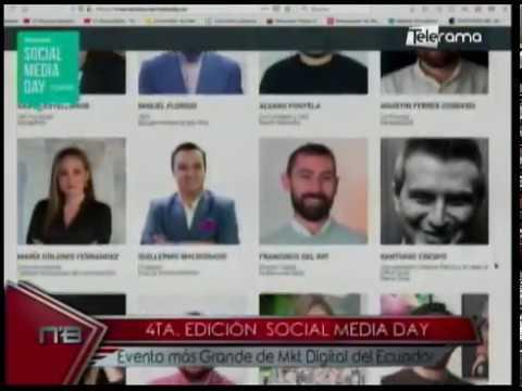 4ta. edición Social Media Day evento más grande de Mkt Digital del Ecuador