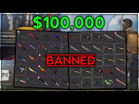 my $100,000 inventory got banned... heres why (видео)