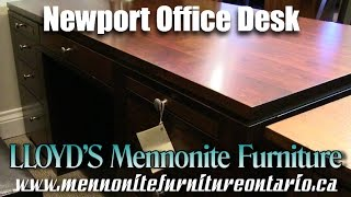 Mennonite Newport Office Desk