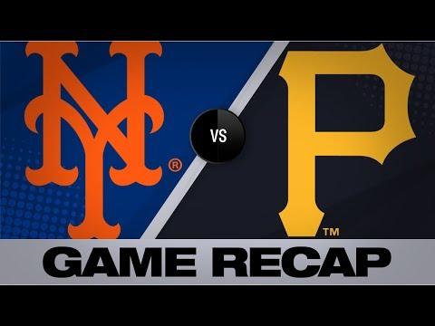 Video: 3 homers, Syndergaard lead Mets to win | Mets-Pirates Game Highlights 8/4/19