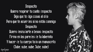 Video Despacito - Luis Fonsi, Daddy Yankee ft. Justin Bieber (Lyrics) MP3, 3GP, MP4, WEBM, AVI, FLV Januari 2018