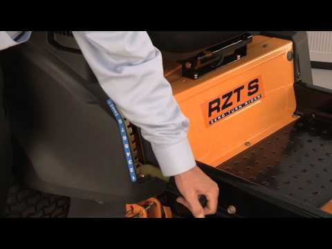 How to Remove the Deck on RZT Zero-Turn Riding Mowers