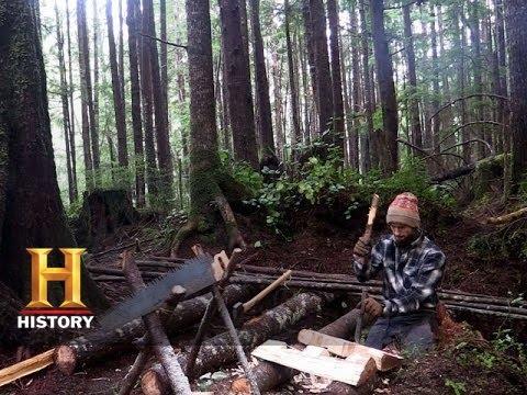 Alone: Lucas Builds a Canoe (Season 1, Episode 5) | History