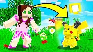 Minecraft: POKEMON SIMULATOR! (CATCH POKEMON & BE RICH!) Modded Mini-Game