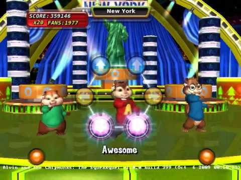 alvin and the chipmunks the squeakquel wii game review