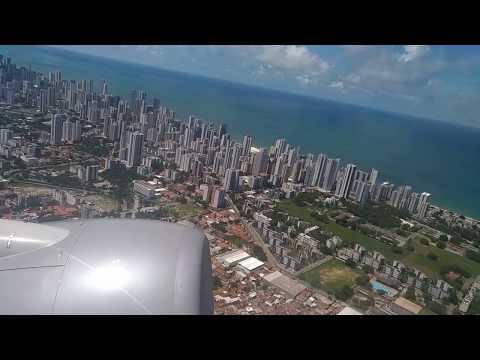 Kinoplex - Vista de Recife decolagem de um 737