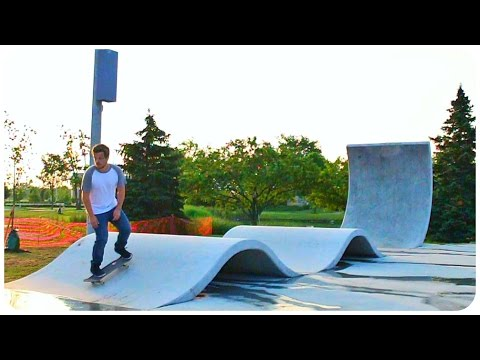 The BEST Skatepark I've Ever Seen!