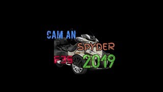 2. 2019 Can am spyder RT limited 2018 all new
