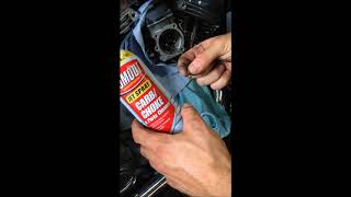 7. How to Clean 2000 Harley Davidson Electra Glide 88CI Carb Cleaning (Pilot Jet)