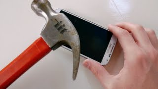 Samsung Galaxy S4 Hammer Drop Test
