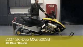 8. 07 Ski-Doo MXZ for sale