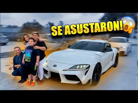 MI FAMILIA REACCIONA A MI TOYOTA SUPRA || ALFREDO VALENZUELA