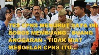Video Wali Kota Solo - Tes CPNS Terlalu Boros Cuma Buang Buang Anggaran MP3, 3GP, MP4, WEBM, AVI, FLV November 2018