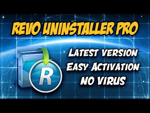 ► Revo Uninstaller PRO 4.1.0 | How to install, activate and use | + Portable version (2018)