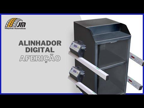 Alinhador Portátil Digital - Aferição