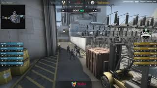 "(RU)  ""LOOT.BET"" Cup #3 | Vitality vs Valiance | @Toll_tv & @cyberfocus_csgo Map 1 de_nuke"