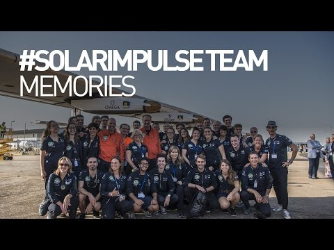 #SolarImpulse Team memories for Bertrand Piccard