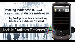 Mobile Statistics Professor YouTube video