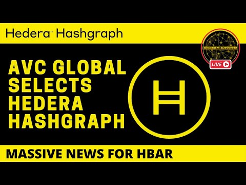 AVC Global Selects Hedera   Crypto Chat With Cheeky Crypto Live