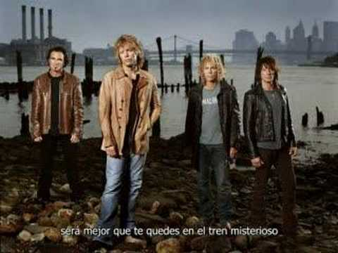BON JOVI - Mystery Train (audio)