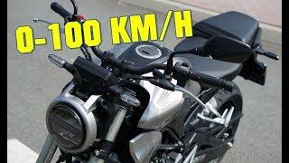 3. 2018 Honda CB300R 0-100 KMH - 0-60 MPH ACCELERATION