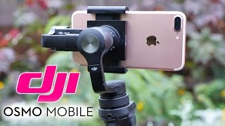 The BEST iPhone 7 Gimbal! DJI Osmo Mobile Review