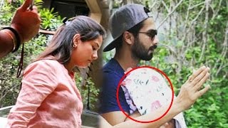 (Video) Shahid Kapoor & Mira Rajput Take BABY Home From Hospital full download video download mp3 download music download