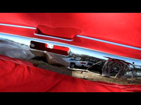 1967 1968 Oldsmobile 98 Rear Bumper Supplier Buy Sell Trade